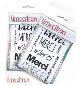 Limecitron Kit Merci Stamp