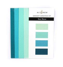 ALTENEW Ultimate Gradient Cardstock- Sea Shore