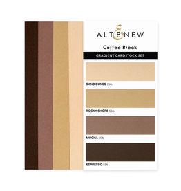 ALTENEW Ultimate Gradient Cardstock- Coffee Break
