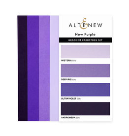 ALTENEW Ultimate Gradient Cardstock- New Purple