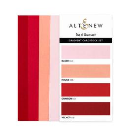 ALTENEW Ultimate Gradient Cardstock- Red Sunset