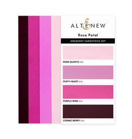 ALTENEW Ultimate Gradient Cardstock- Rose Petal
