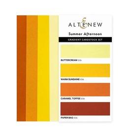 ALTENEW Ultimate Gradient Cardstock- Summer Afternoon