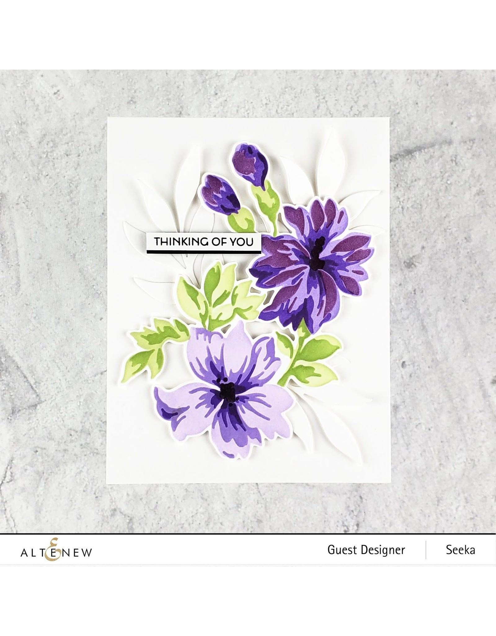 ALTENEW Bitterroot Flower Die Set