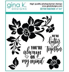 Gina K. Designs Better Together MINI Stamp