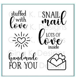 Gina K. Designs Stuffed With Love MINI Stamp