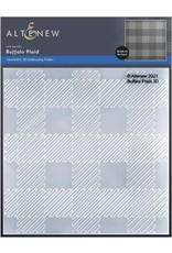 ALTENEW Buffalo Plaid 3D Embossing Folder