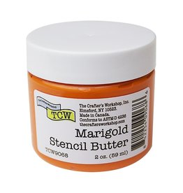 THE CRAFTERS WORKSHOP MARIGOLD  -STENCIL BUTTER 2OZ