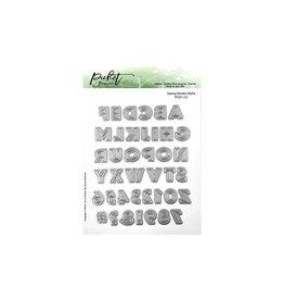 PICKET FENCE STUDIOS DBL ALPHA -PICKET FENCE DIES