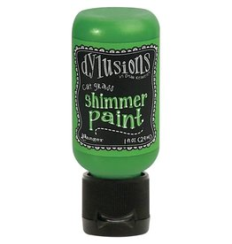 Dylusions Dylusions Shimmer Paint - Cut Grass