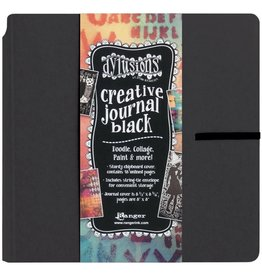Dylusions Dylusions Black 8x8 Creative Journal