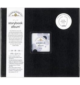 Doodlebug Design beetle black storybook album 12x12