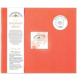 Doodlebug Design coral storybook album 12x12