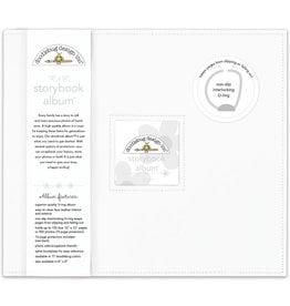 Doodlebug Design lily white storybook album 12x12