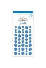 Doodlebug Design blue jean assortment jewels