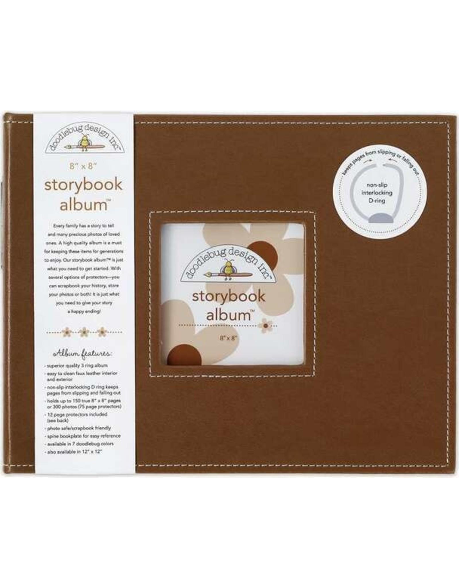 Doodlebug Design Bon Bon Storybook Album 8x8