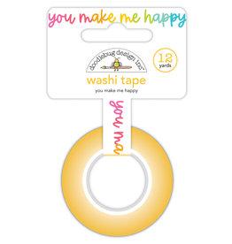 Doodlebug Design you make me happy washi tape