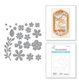 Spellbinders Petite Floral Potpourri Etched Dies