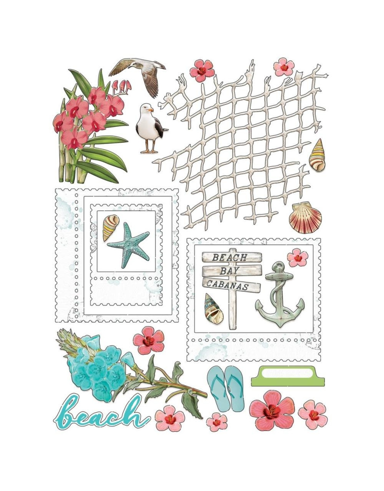49 AND MARKET 6X8 PACK  -VA BEACHED COLLECTION