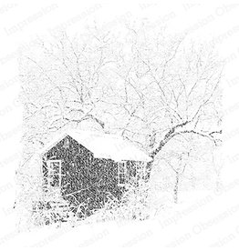 Impression Obsession Snowy Studio Cling Stamp