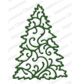 Impression Obsession Christmas Tree Die