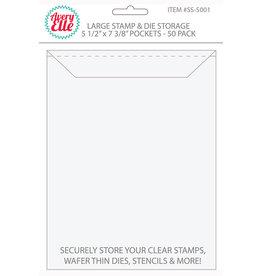 Avery Elle LARGE -AVERY ELLE STORAGE POCKETS 50 PC