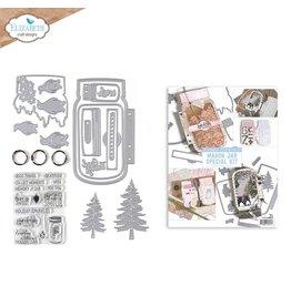 Elizabeth Craft Designs Mason Jar/Snow Globe Special Kit