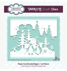 Creative Expressions Paper Cuts Ice Palace Double Edger Craft Die