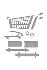 Spellbinders 3D Shopping Cart Die