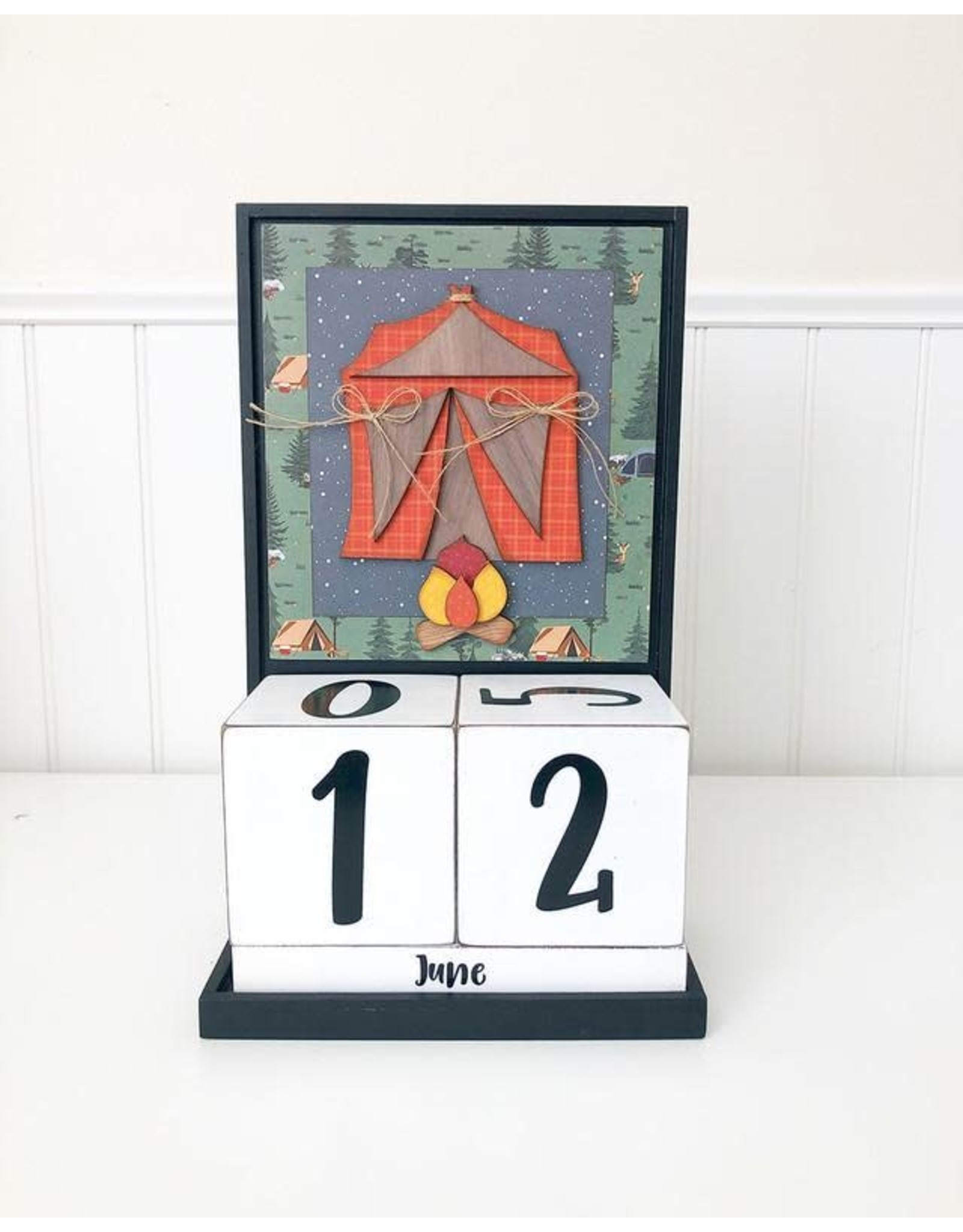 Foundations Décor Block Countdown - June/Father's Day
