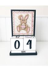 Foundations Décor Block Countdown- April/Easter