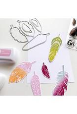 Catherine Pooler Designs Boho Feathers Dies