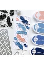 Catherine Pooler Designs Boho Feathers Stamp Set