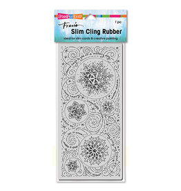 Stampendous SlimLine Snowflake Wishes Stamp