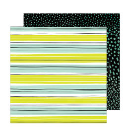 AMERICAN CRAFTS CHILL OUT -BRAVE & BOLD PAPER 12X12