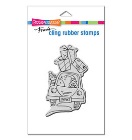 Stampendous Holiday Delivery Cling Stamp
