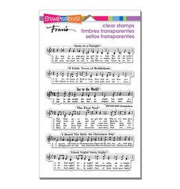 Stampendous Caroling Music Stamp