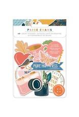Paige Evans Bungalow Lane - Epoxy Stickers
