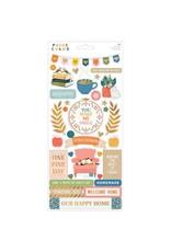 Paige Evans Bungalow Lane - 6x12 Sticker Sheet