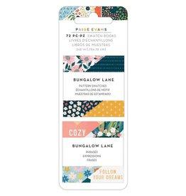 Paige Evans Bungalow Lane Swatch Book