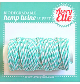 Avery Elle Aquamarine Hemp Twine