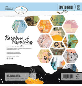 Elizabeth Craft Designs Elizabeth Craft Designs - 12 x 12 Double Sided Paper Pack - Rainbow of Happiness