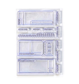 Elizabeth Craft Designs Elizabeth Craft Designs - Clear Photopolymer Stamps - Sidekick Stamps 2