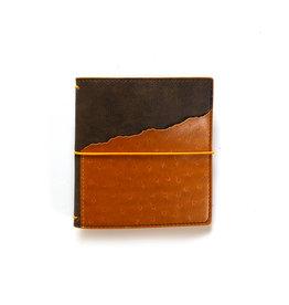 Elizabeth Craft Designs Elizabeth Craft Designs - Traveler's Notebook - Espresso Ochre