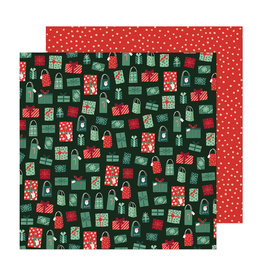 Crate Paper Busy Sidewalks - Holiday Style- 12 x 12 Paper