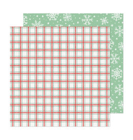 Crate Paper Busy Sidewalks - Snow Day - 12 x 12 Paper