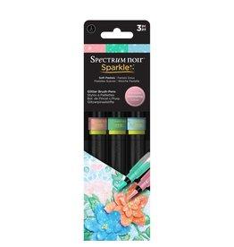SPECTRUM NOIR Soft Pastels Sparkle Pens