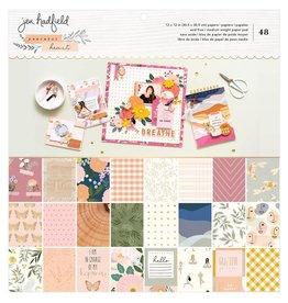jen hadfield Peaceful Heart Paper 12x12