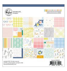 PINKFRESH STUDIO The Best Days: 6 x 6 paper pack
