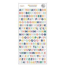 PINKFRESH STUDIO The Best Days: Mini Alphabet Stickers